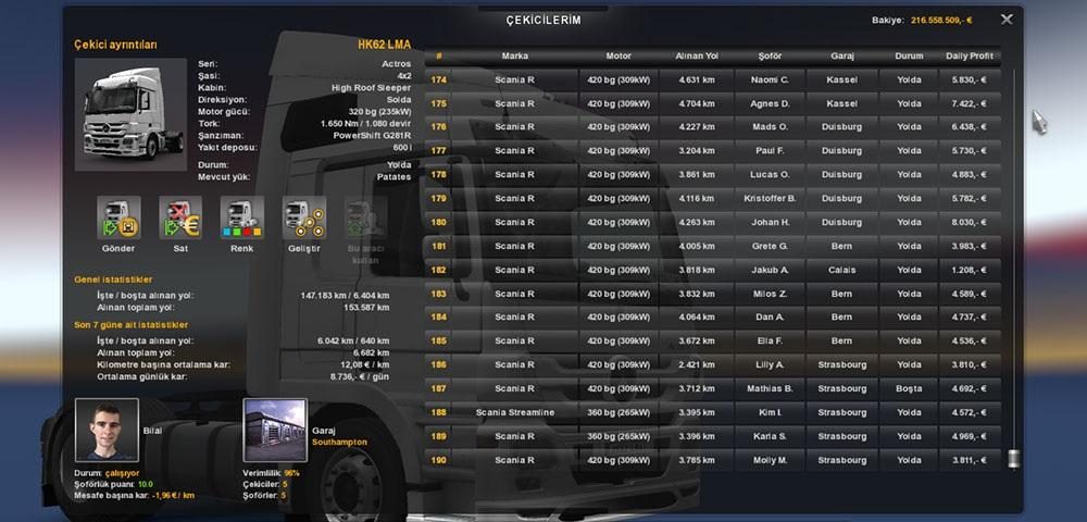 1.18.1 Saved Game Profile | ETS 2 Mods