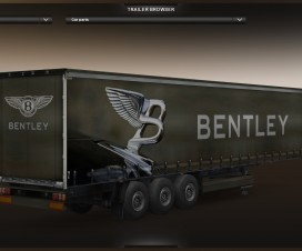 Bentley Trailer v1 | ETS 2 Mods