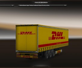 DHL Trailer v1 | ETS 2 Mods