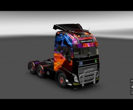 Abstract skin Volvo | ETS 2 Mods