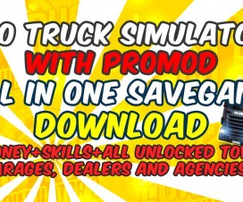 All in One Savegame + ProMod (Full unlocked) | ETS 2 Mods