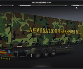 Army Skin Pack 1.17 | ETS 2 Mods