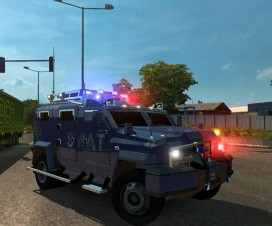 Auto Lockdown in Traffic | ETS 2 Mods