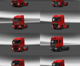 Biedronka Trucks Pack v1 | ETS 2 Mods