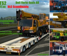 DOLL VARIO 4axis | ETS 2 Mods