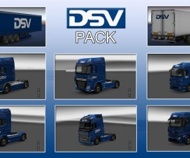 DSV Pack v1 | ETS 2 Mods