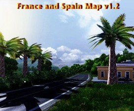 france and spain map v1 2 7