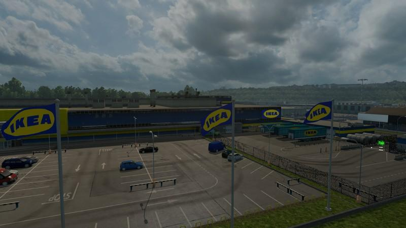 Ikea company ets2 mods for Ikea driving directions