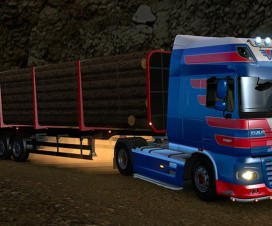 Logs trailer 1.17 | ETS 2 Mods