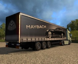Maybach Trailer | ETS 2 Mods