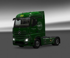 MB Actros 2014 Streamspace 7-Pack 1.18 | ETS 2 Mods