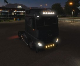 MB Actros MP4 Addons | ETS 2 Mods