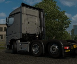 Mercedes MP4 Tag Axle | ETS 2 Mods