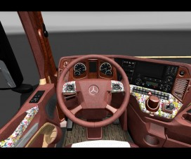 Mercedes New Actros Interior 1.18 | ETS 2 Mods