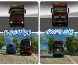 Mercedes Actros 2014 1.18 | ETS 2 Mods