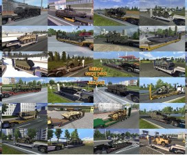 Military Cargo Pack by Jazzycat  v1.6 | ETS 2 Mods