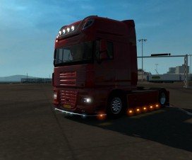 Open Pipe sound for the Daf XF105 SSC | ETS 2 Mods