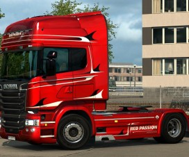 Scania Streamilne Red Passion Limited Edition | ETS 2 Mods