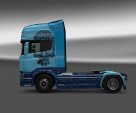 Scania Streamline Skull 1.18 | ETS 2 Mods