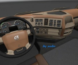 Volvo FH 16 2009 Classic [Brown-Beige] Interior | ETS 2 Mods