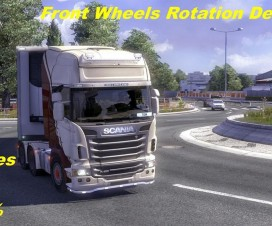 front wheels rotation degrees 1