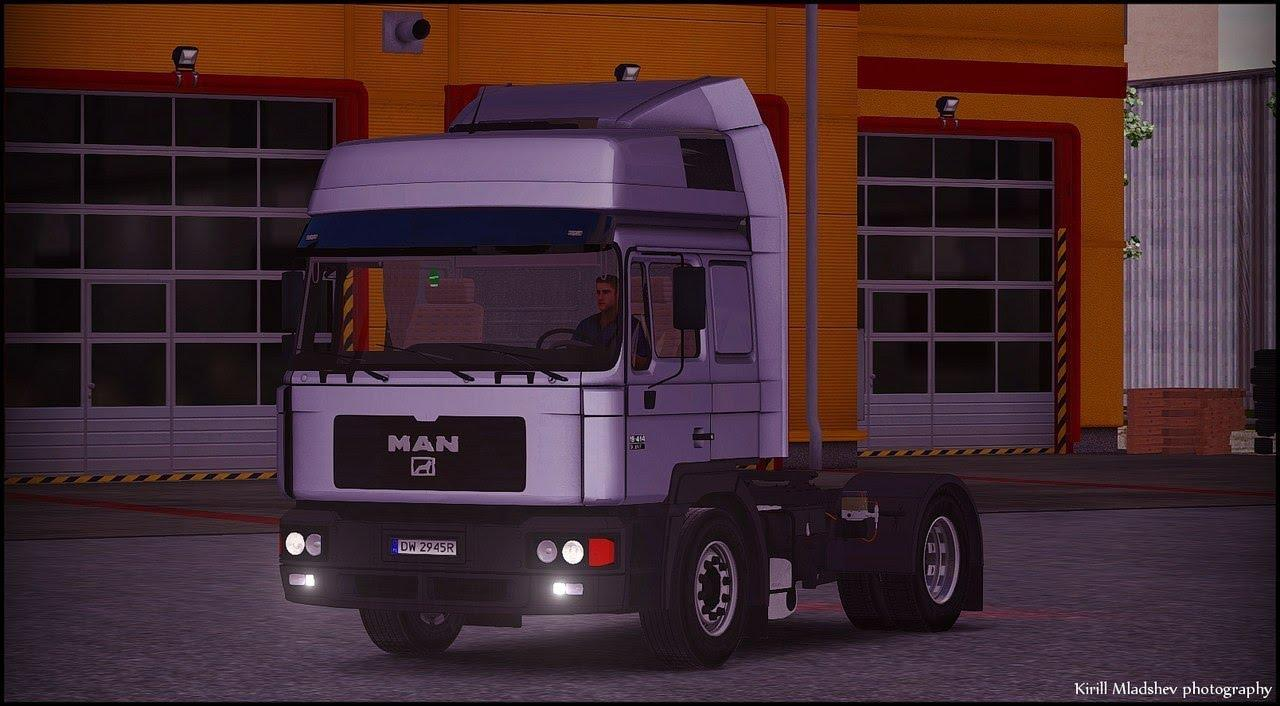 MAN F2000 v1.2 | ETS2 Mods