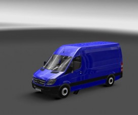 mercedes sprinter 1 18 with template 1