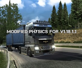 modified physics for v1 18 1 3 1