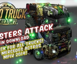 monsters attack skin pack for all trucks 1