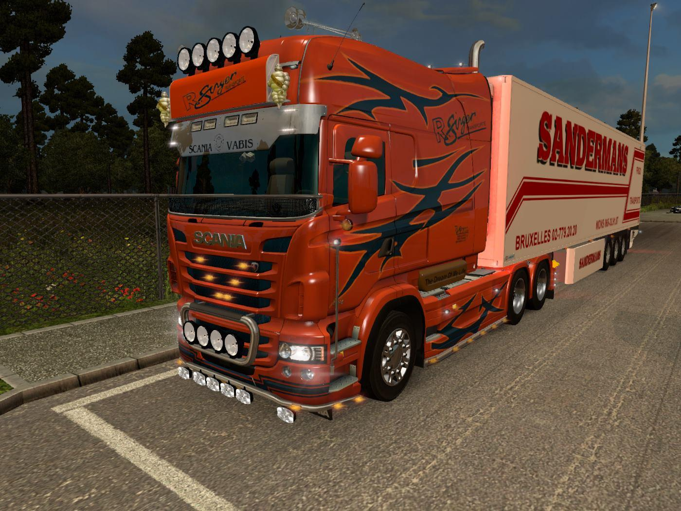 Scania RJL All chassis + 2 Skins | ETS2 Mods