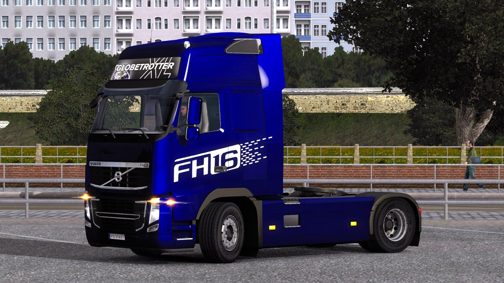 Volvo FH 2009 FH13, FH16 Skin | ETS2 Mods