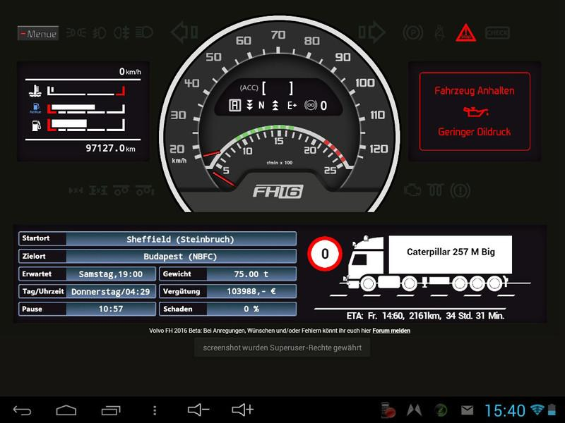 volvo fh16 dashboard v0 4 5 beta 1