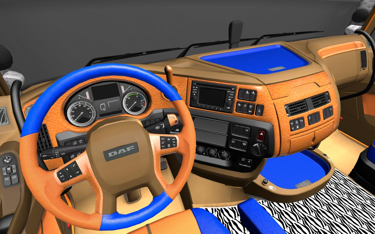Daf xf euro 6 limited edition interior ets2 mods for Daf euro 6 interieur