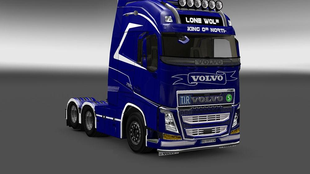 Volvo FH 2013 Ohaha Ultimate Power Skin | ETS2 Mods