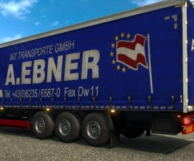 a ebner transporte daf xf euro 6 skin and airconditioner 1