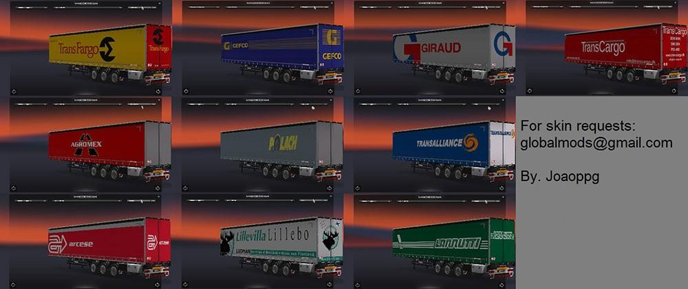 international trailers skin pack 3 1