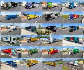 painted truck traffic pack by jazzycat v2 2 1