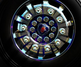 wheels with spikes for scania 1