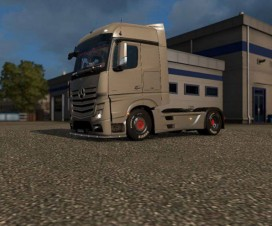 Low suspension for Mercedes-Benz Actros MP IV