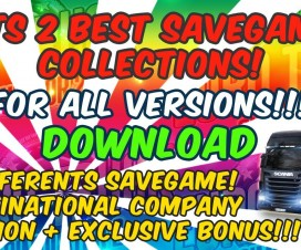 best savegame collections for all versions 1