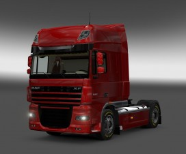 daf xf 105 interior rework 2