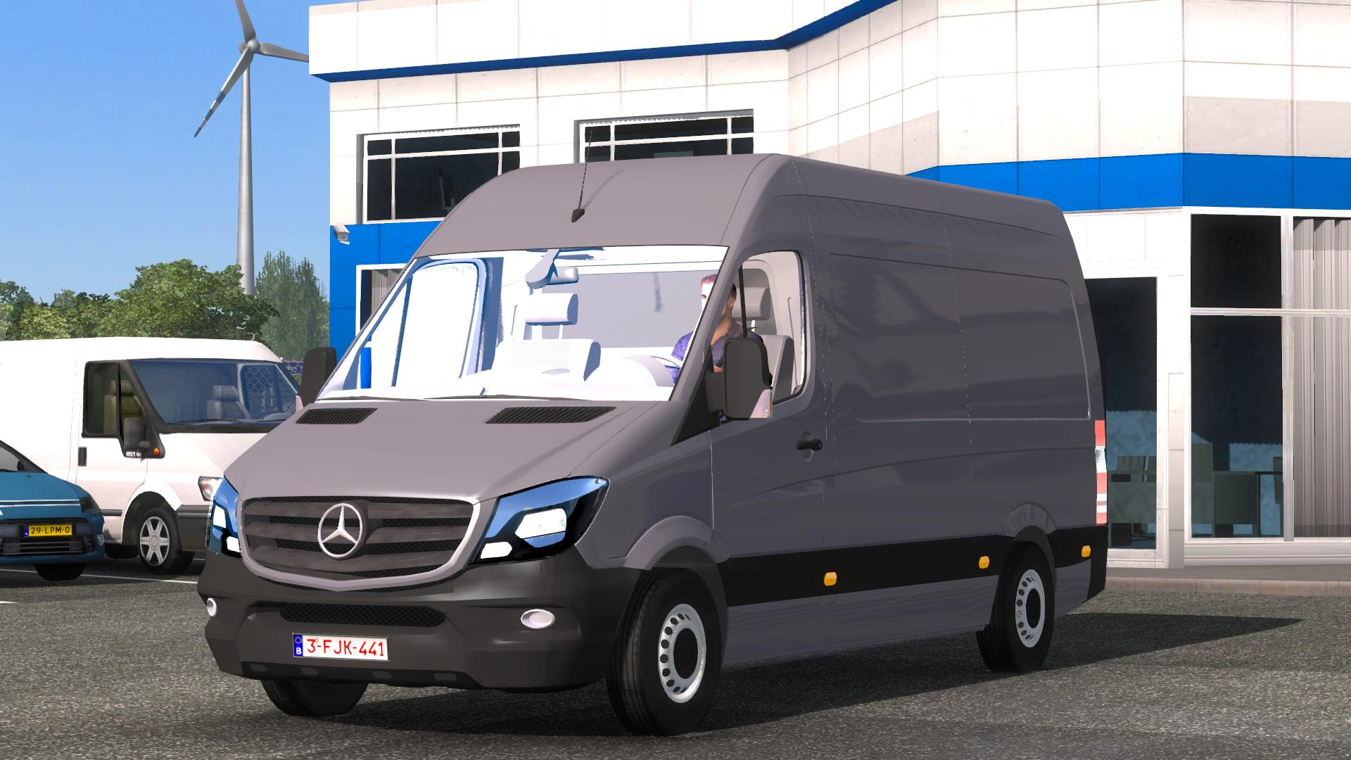 Mercedes benz sprinter cdi311 2014 ets2 mods for Mercedes benz sprinter 2014
