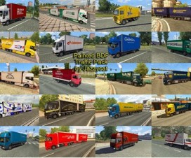 painted bdf traffic pack by jazzycat v1 1 1