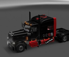 peterbilt mad cats skin 1