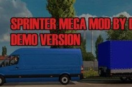 sprinter mega mod free demo version 1 0 2