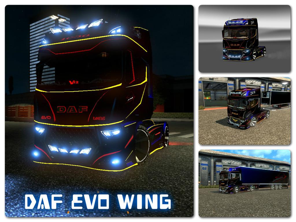 daf evo wing trailer 1 21 1