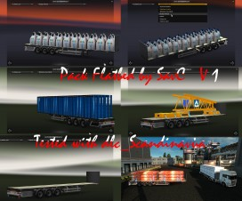 flatbed trailers pack updated 1