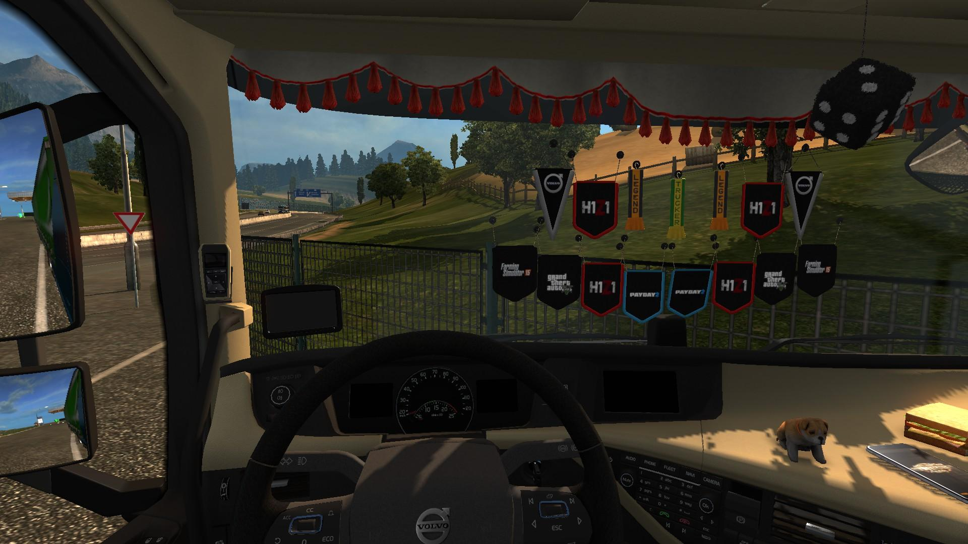 Game Logos For Cabin Accessories Dlc 1 21 X Ets2 Mods