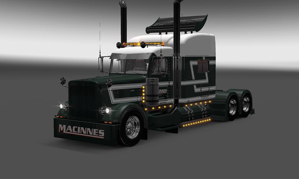 Peterbilt 389 Macinnes Transport Skin Ets2 Mods