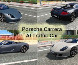 porsche carrera gt ai traffic car 1